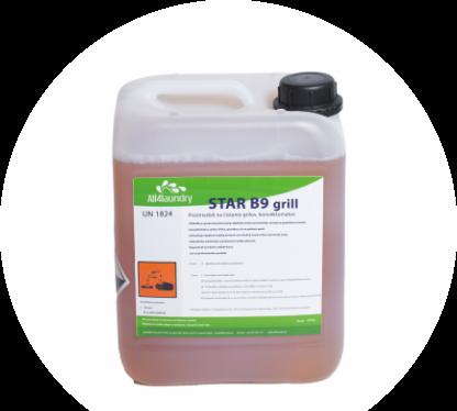 STAR B9 Grill, na čistenie grilov a pripálenín