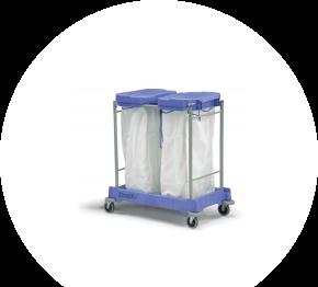 Numatic LLM-2100, vozík na znečistenú bielizeň