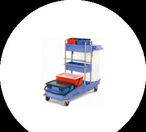 Numatic VCN 1414 BK10, dezinfekčný vozík