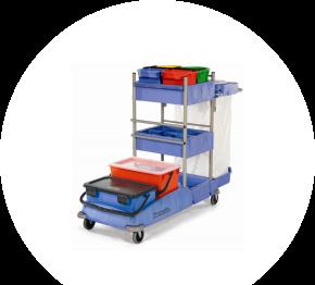 Numatic VCN 1604 BK10, dezinfekčný vozík