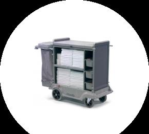 Numatic SKAT 16, vozík pre chyžné ServoKeeper
